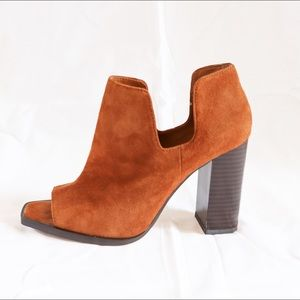 Zara Open Toe Booties